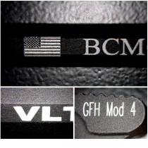 Black Anodized Aluminum - Laser Marking - Laser Marking Technologies