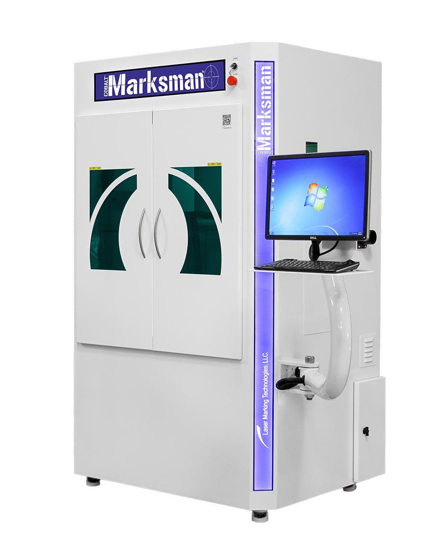 Cobalt Marksman laser engraving machine - Laser Marking Technologies