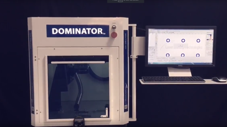 Dominator Auto Door Laser Marking - Laser Marking Technologies