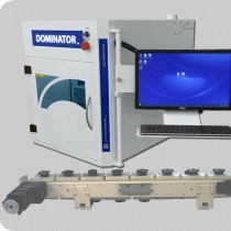 Dominator with conveyor - Laser Marking Technologies