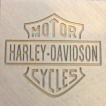 Harley Davidson - Laser Marking on Aluminum - Laser Marking Technologies