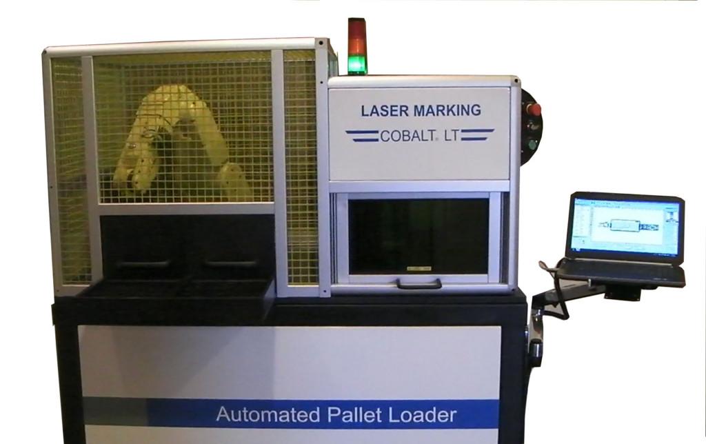 Cobalt LT Automated Robot - laser marking system