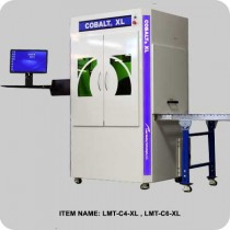 Cobalt XL with conveyor system - Laser Marking Technologies