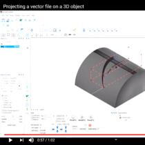 projecting-a-vector-file-on-3D-object